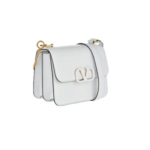 V sling shoulder bag