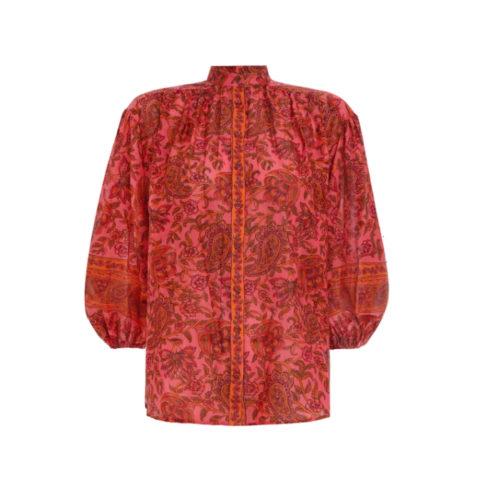 Edie button blouse