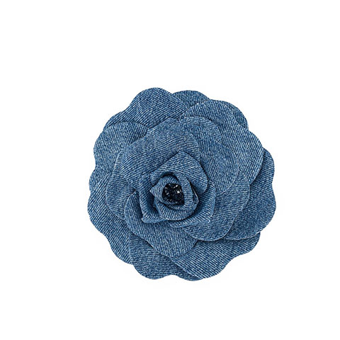 Denim broche