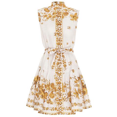 Amelie drop waist short dress