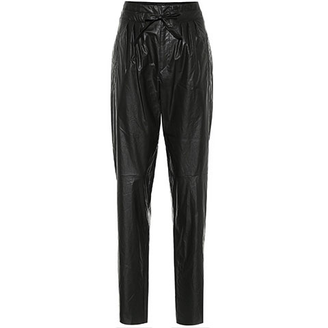 Duard pant faux leather